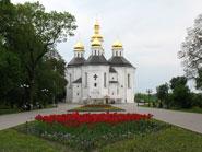 Екатерининская церковь. Чернигов.