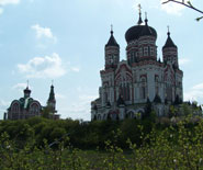 Свято-Пантелеймоновский женский монастырь в Феофании. Киев