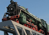 IS Soviet steam locomotive