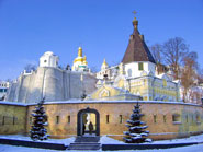 Church of The holy source in Kiev Pechersk Lavra