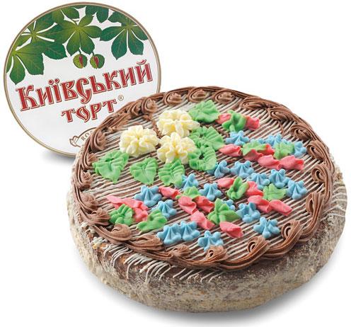 Рецепт торта киевский от рошен