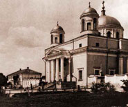 St. Aleksandr Roman Catholic church, the oldest in Kiev and the main for catholics
