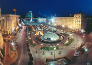 Kiev, Place de l'Independance