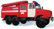 Экскурсия в пожарную часть Киева
